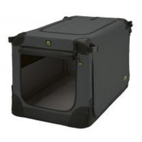 316z4r4rZDL - Maelson Soft Kennel faltbare Hundebox -anthrazit- M 82 - (82 x 59 x 60 cm)