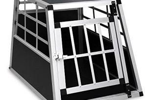 wis hengda alu hundetransportbox hundebox fuer den transport kleiner hunde 54x69x50cm silber schwarz 310x205 - WIS Hengda Alu Hundetransportbox Hundebox für Den Transport Kleiner Hunde 54x69x50cm Silber-Schwarz