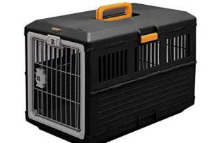 iris faltbare transportbox fuer hunde und katzen fc 670 kunststoff schwarz 686 x 403 x 478 cm 310x205 - IRIS, faltbare Transportbox für Hunde und Katzen FC-670, Kunststoff, schwarz, 68,6 x 40,3 x 47,8 cm