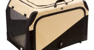 HUNTER Hundetransportbox Autobox strapazierfaehig zusammenklappbar 76 x 51 x 48 310x165 - HUNTER Hundetransportbox, Autobox, strapazierfähig, zusammenklappbar, 76 x 51 x 48 cm, beige/schwarz